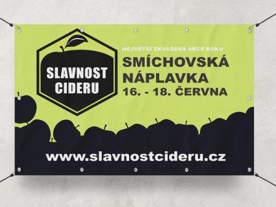 Banner Slavnost Cideru