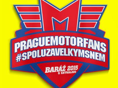 Logo Baráž 2015 PragueMotorfans