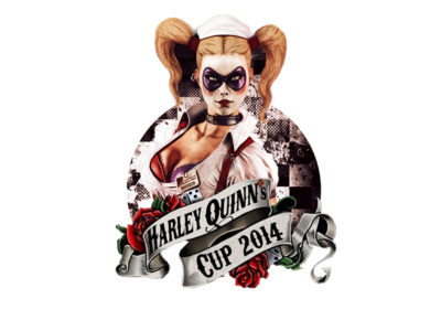 Logo Harley Quinn Cup
