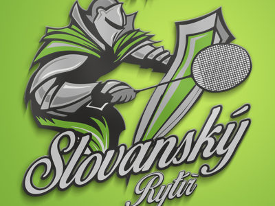 Alternativní Logo TJ SLOVAN VESEC BADMINTON