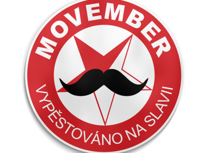 Logo Movember HC SLAVIA PRAHA