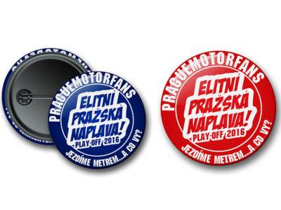 Placky Prague MOTORFANS PLAY OFF 2016