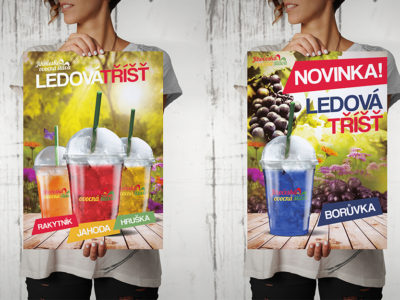 Plakáty A3 Jihočeská Ovocná Šťáva
