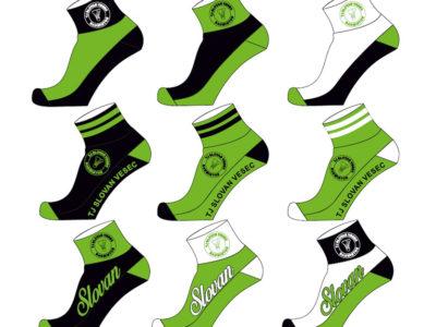 Ponožky TJ SLOVAN VESEC BADMINTO