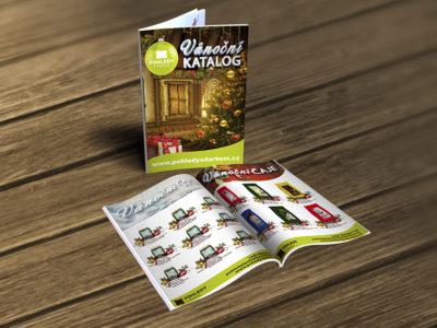 Pohledy s Dárkem Vánoční Katalog
